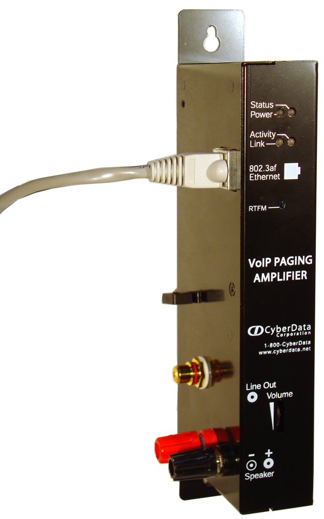 CyberData VoIP Paging Amplifier