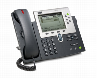 Cisco IP Phone 7961G-GE - VoIP phone - SCCP - silver, dark gray - Click Image to Close