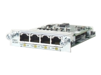 Cisco HWIC 4ESW POE= EtherSwitch HWIC - switch - 4 ports